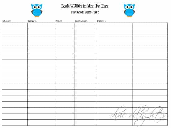 Doc610487 Volunteer Sign Up Sheet Printable Sign Up Sheets – Student Sign Up Sheet