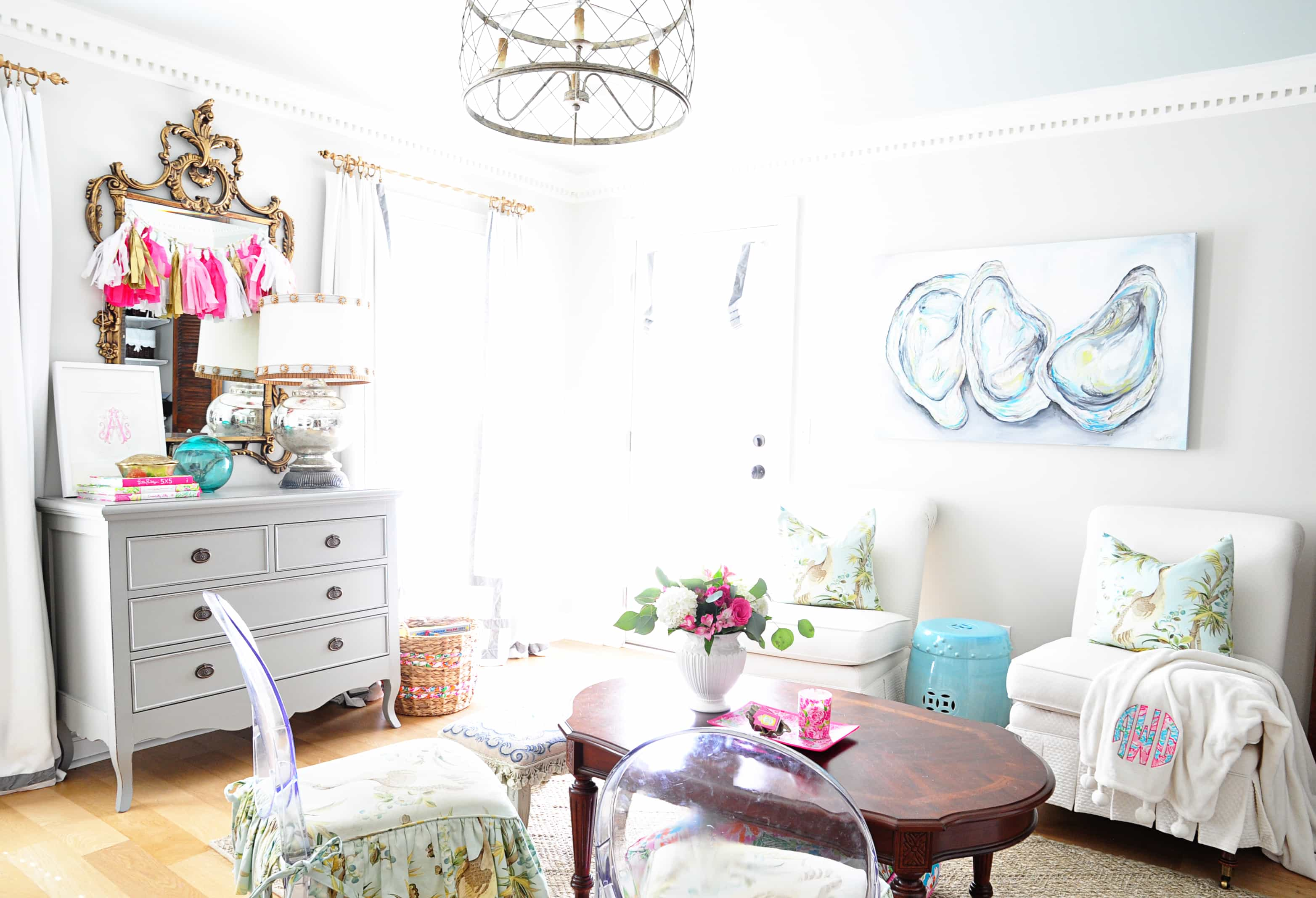 The Delightful Home {Family Office} – Dixie Delights