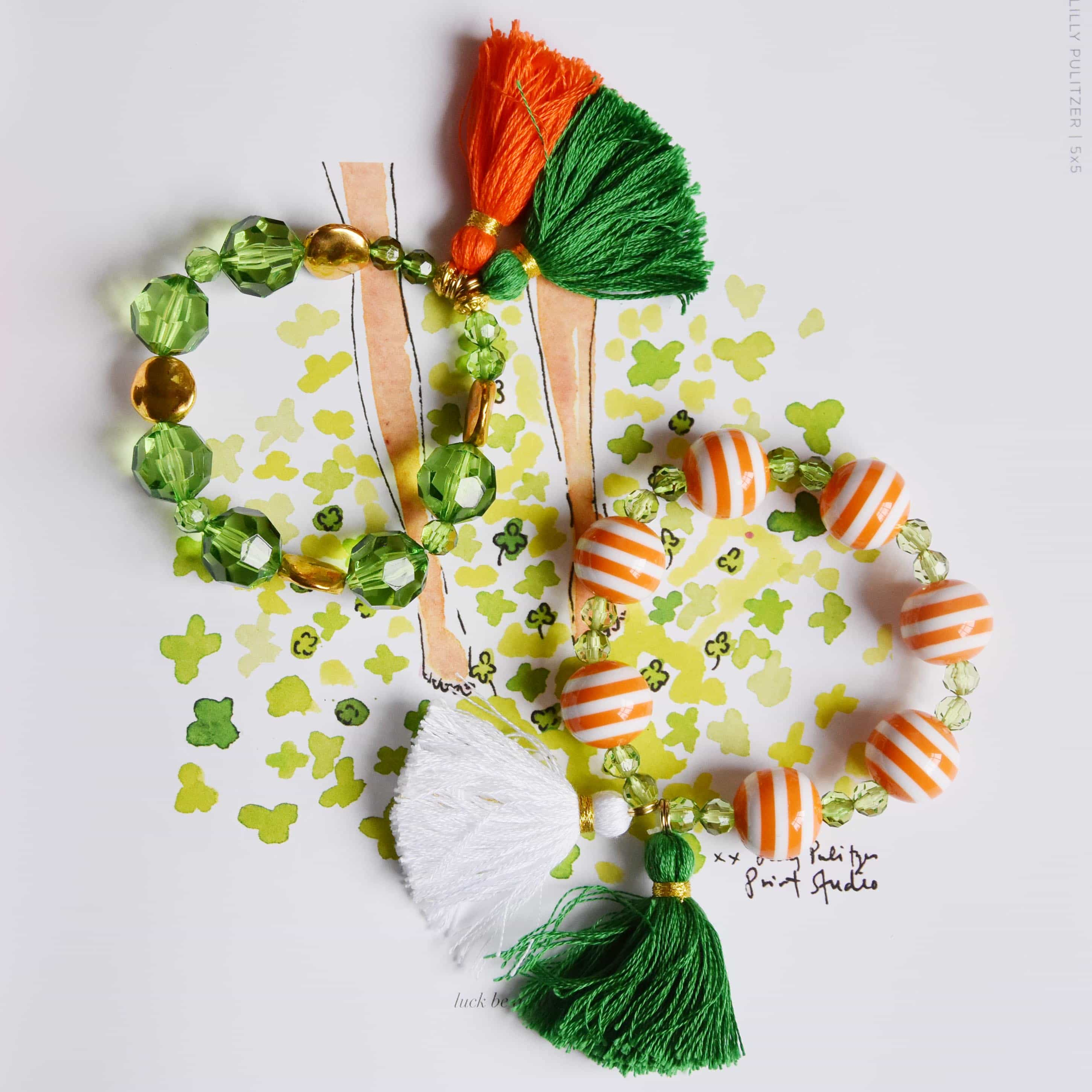 st patrick s day tassels dixie delights