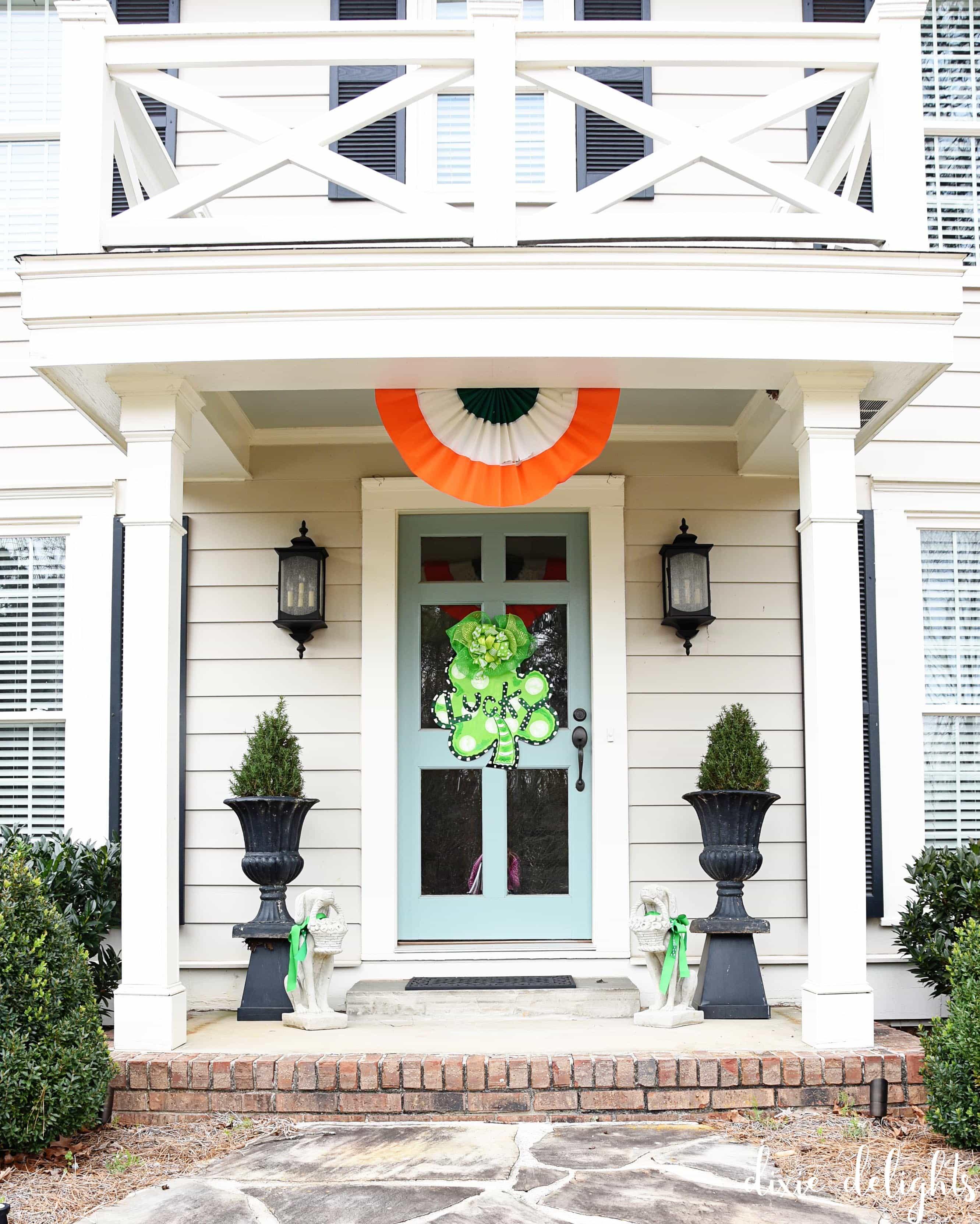 St Patrick S Day Door Dixie Delights