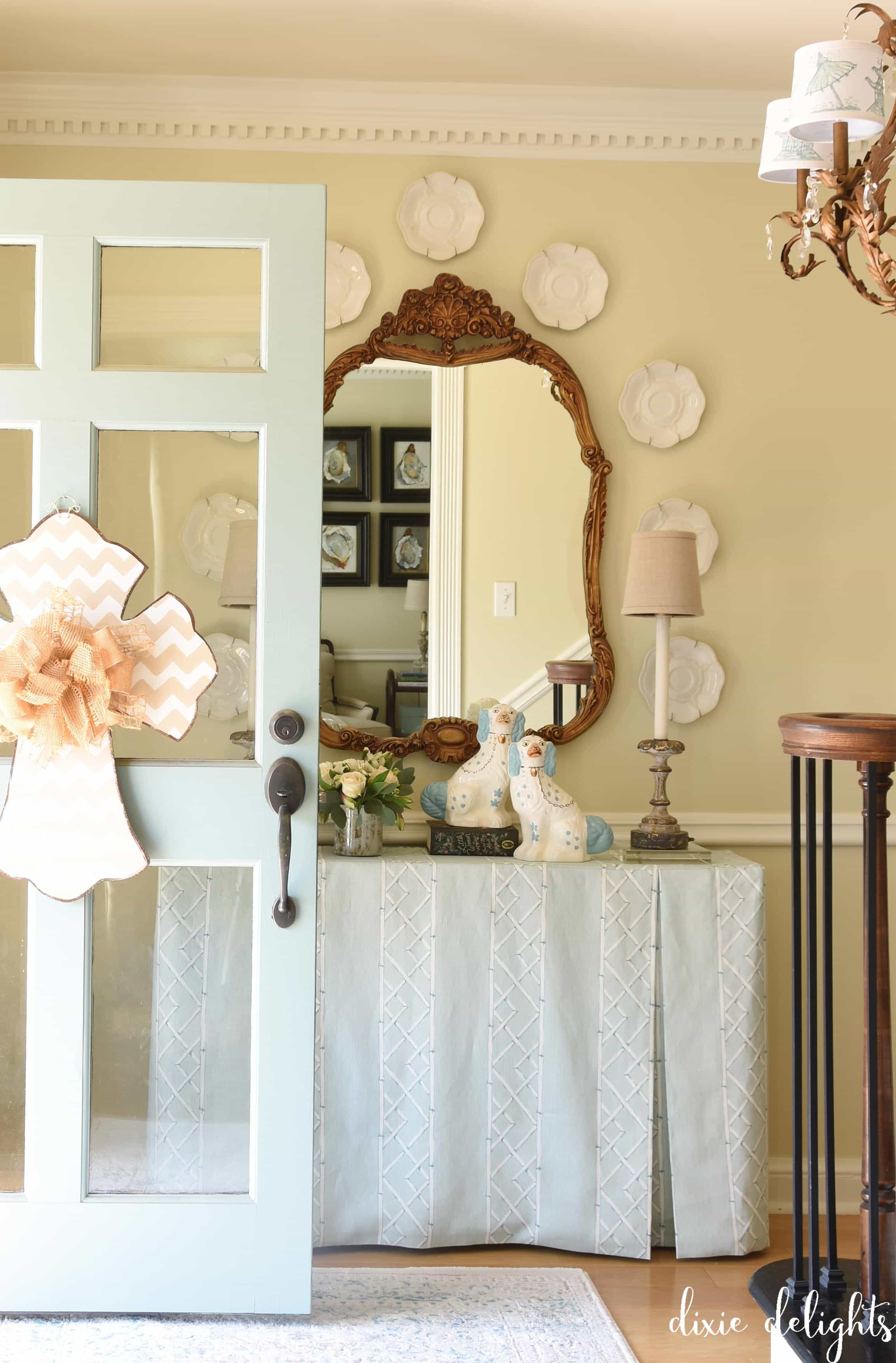 The Delightful Home {Spring Foyer} – Dixie Delights