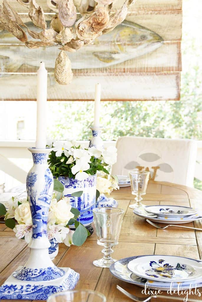 9279ef84dc86 While I won't be hosting Easter this year, I was excited to join in on  Slightly Coastal's Easter Tablescape Tour today! I love shopping the house  – and yard ...