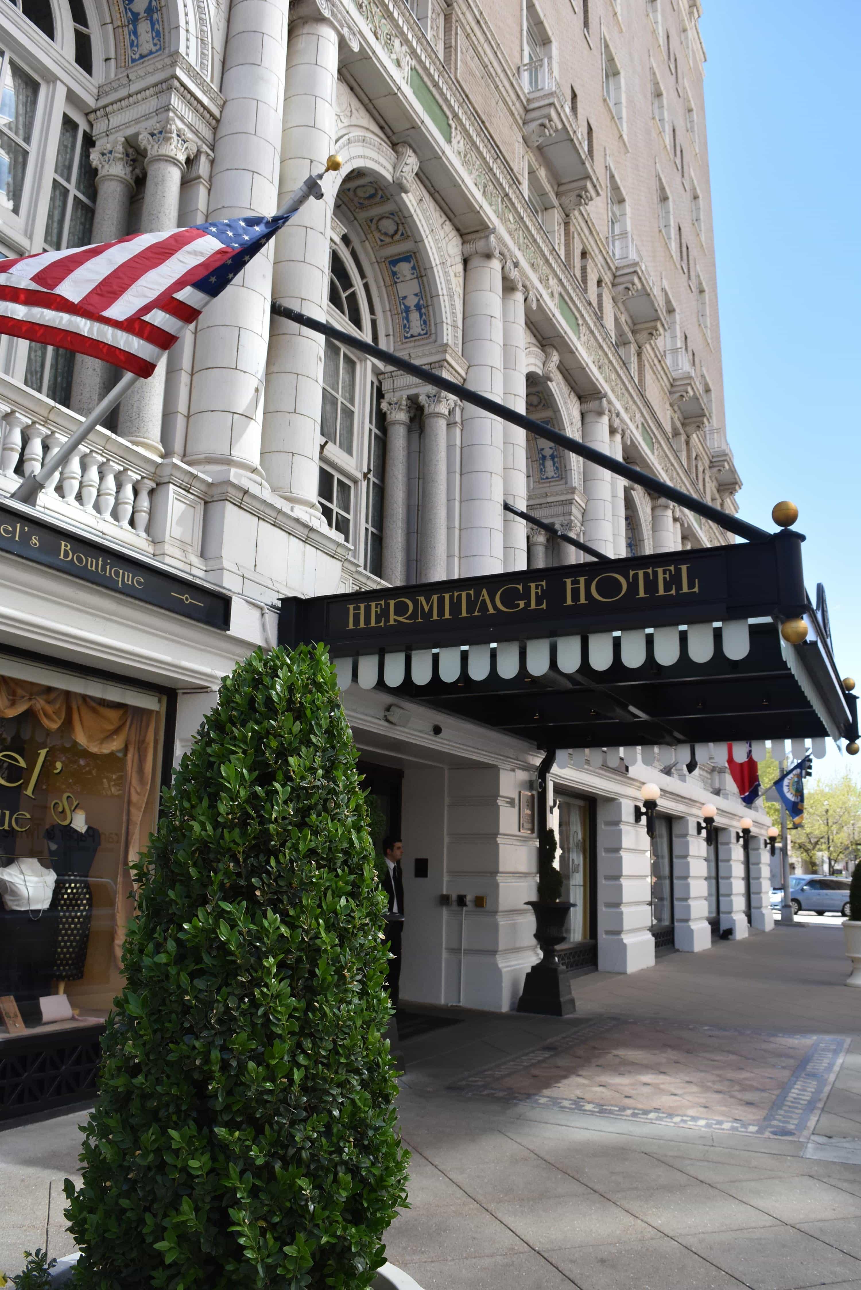 Exterior: Tour Of Tennessee {Nashville: Hermitage Hotel, Wildhorse