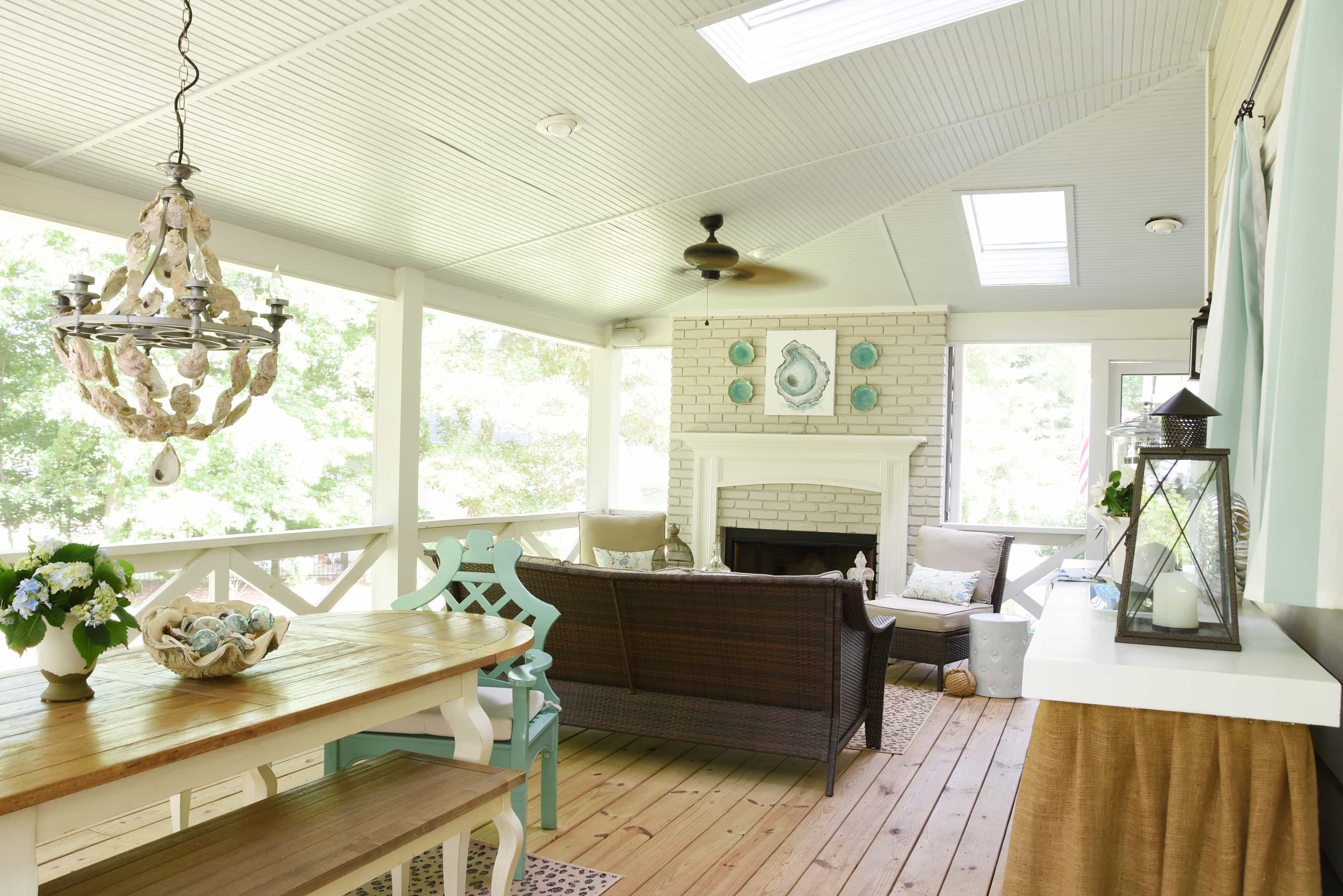 The Delightful Home Southern Screened Porch – Dixie Delights