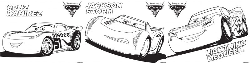Cars 3 {Printable Coloring Pages, Games + Recipe} - Dixie ...