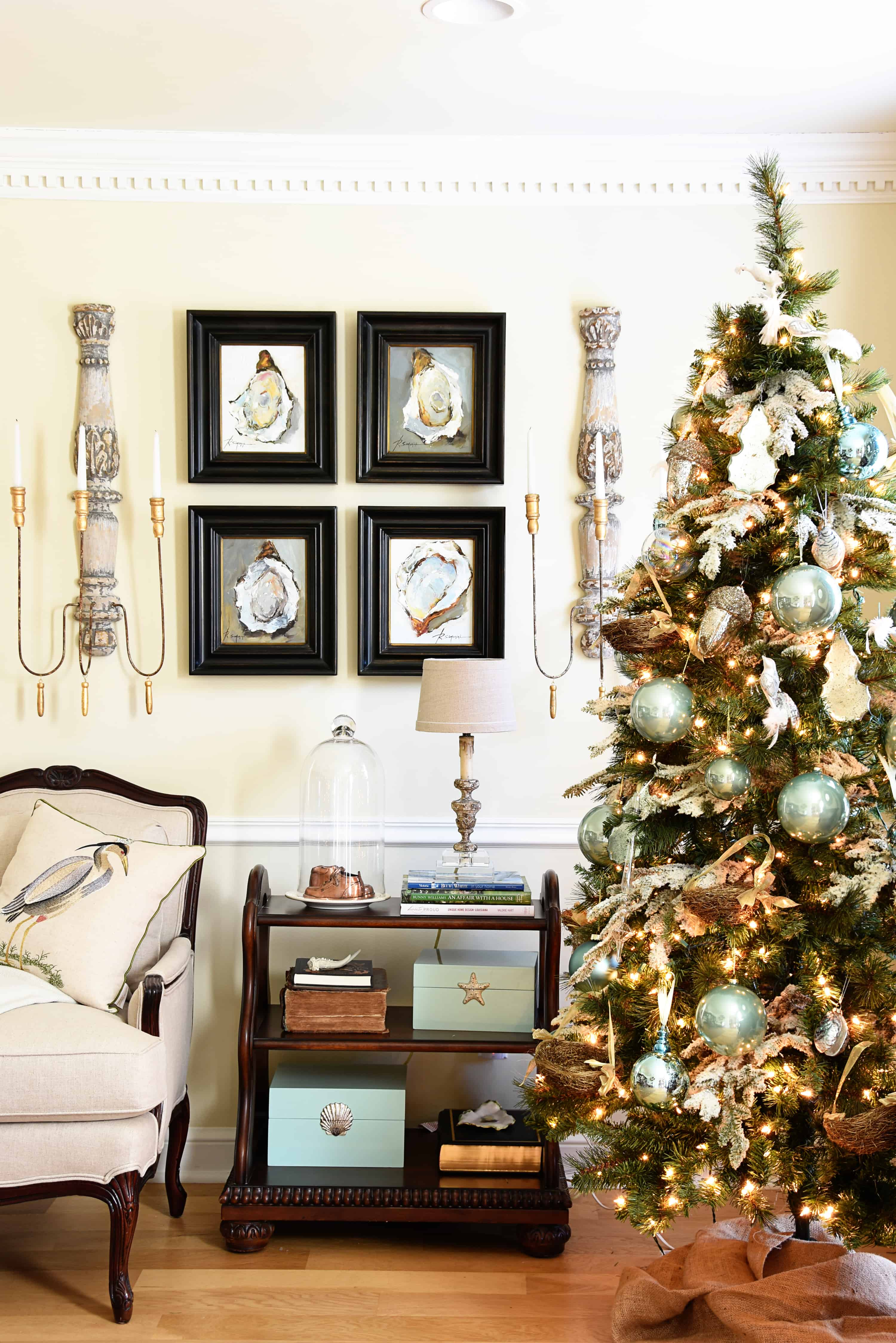Deck the Halls 2017 {Living Room + Dining Room} – Dixie Delights