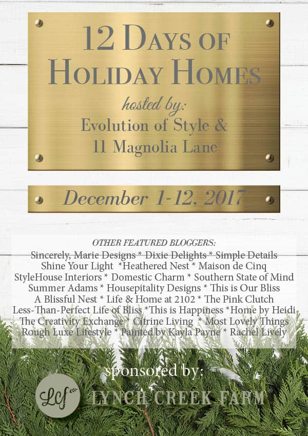Deck the halls 2017 holiday home tour dixie delights i do hope that you will join me over the coming days as i share every square inch of our christmas home fandeluxe Choice Image