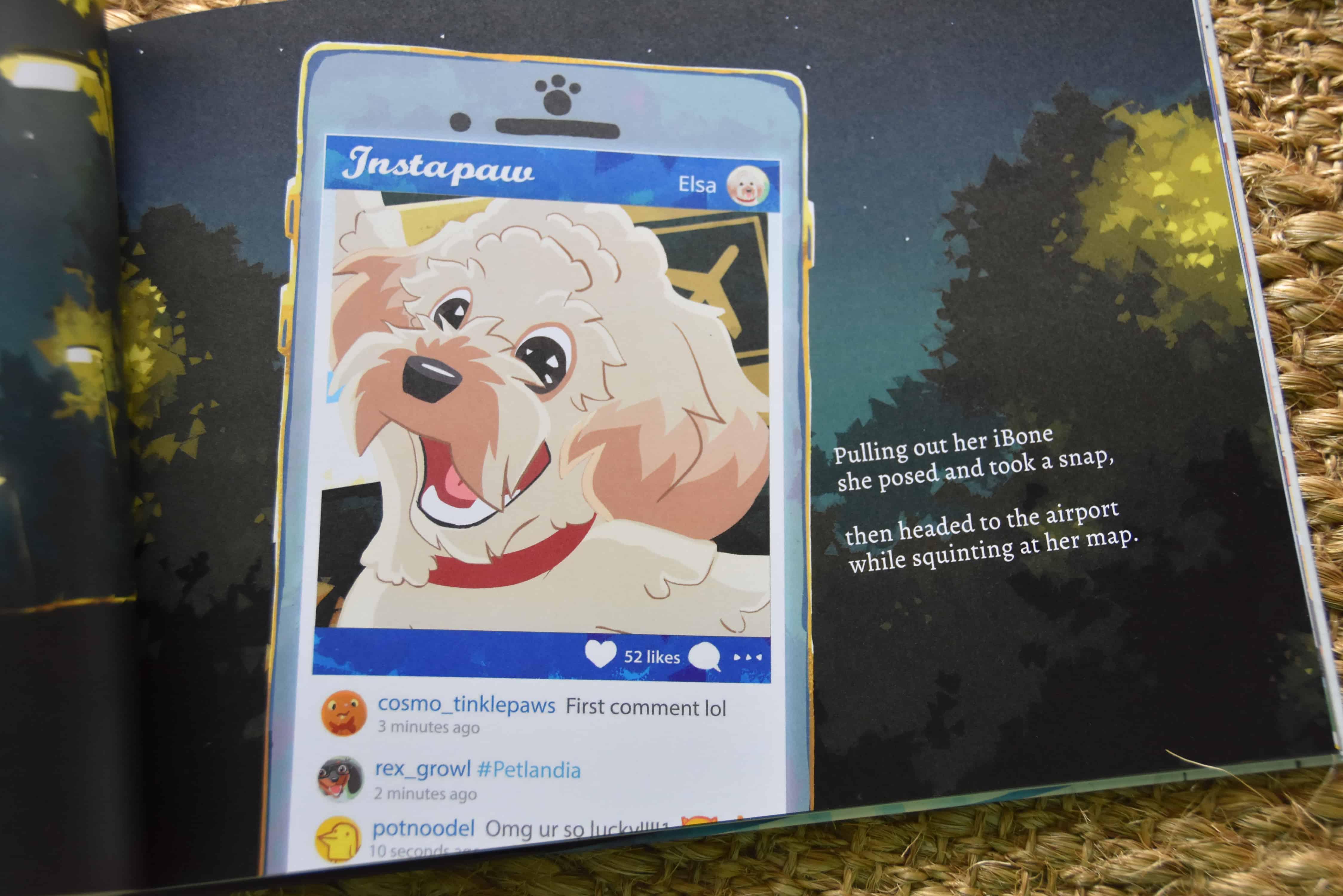 Petlandia Personalized Pet Books Dixie Delights