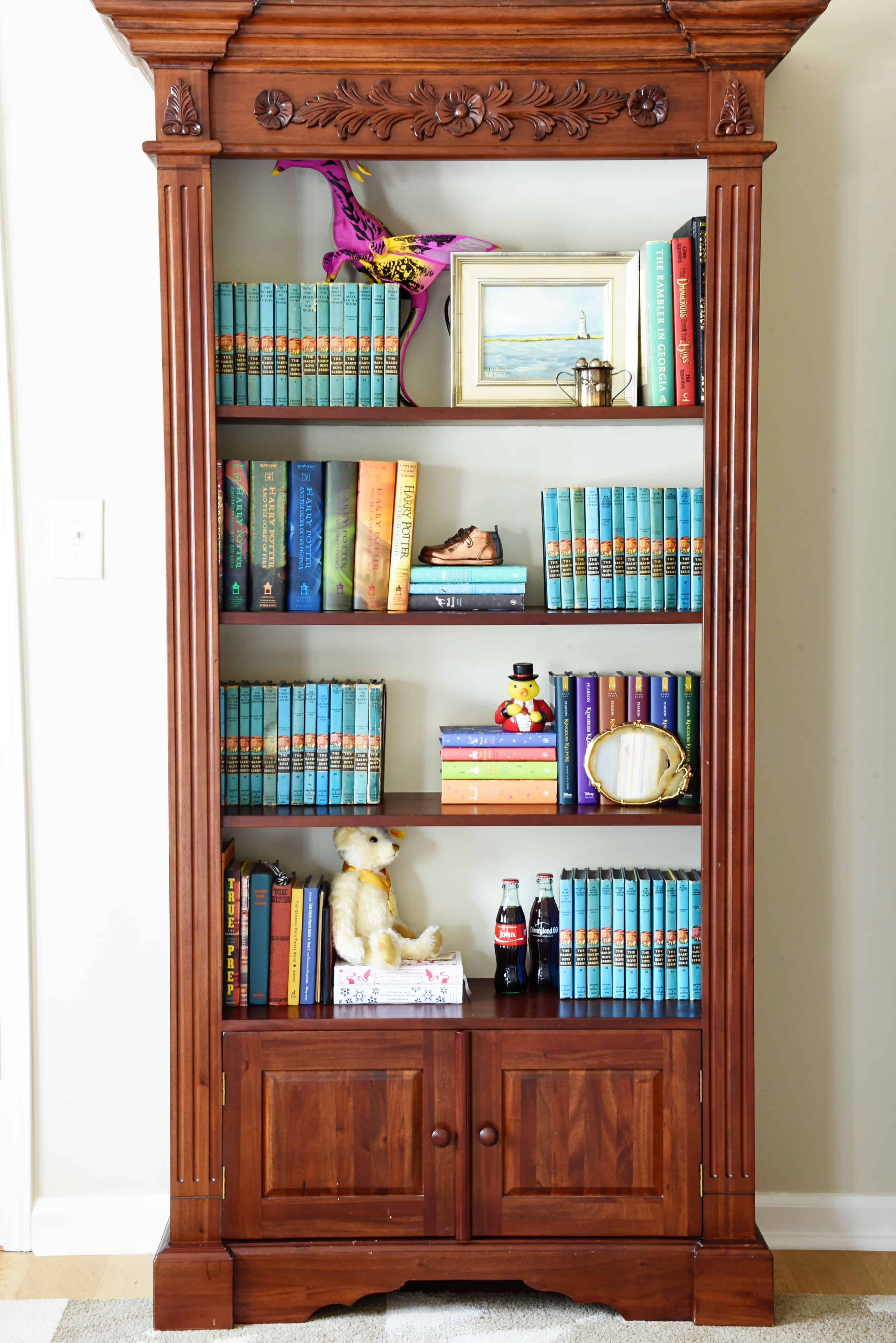 boy room update how to style bookshelves dixie delights rh dixiedelightsonline com