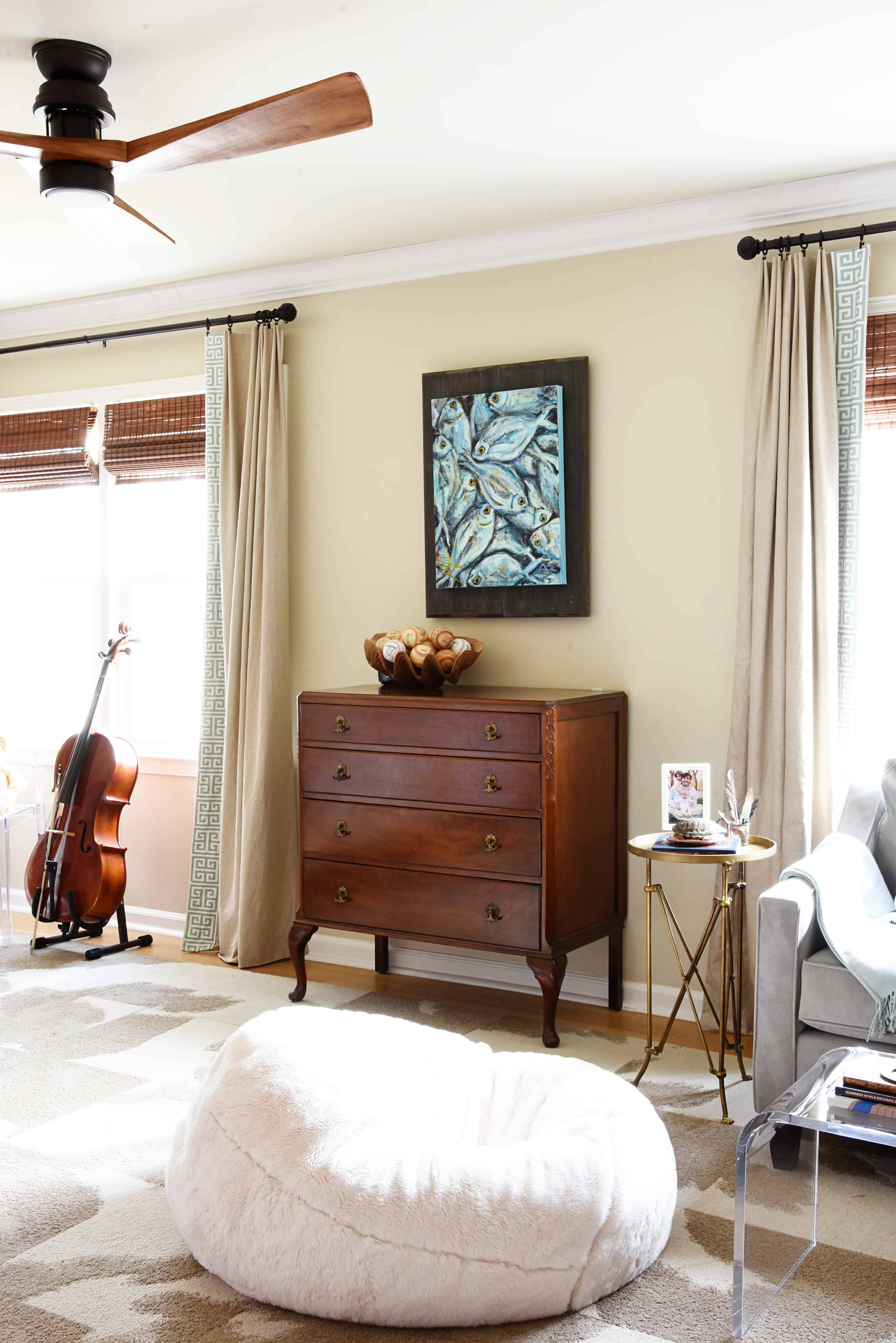 John Opted To Keep A Desk Space In His Room,