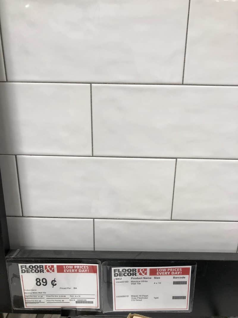 Master Bathroom {Tile Selections} – Dixie Delights