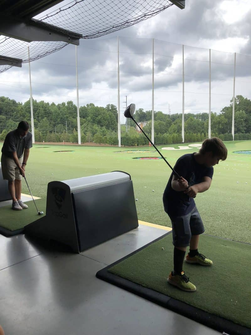 Celebrating 40 with Friends {Top Golf, Gate City Brewing