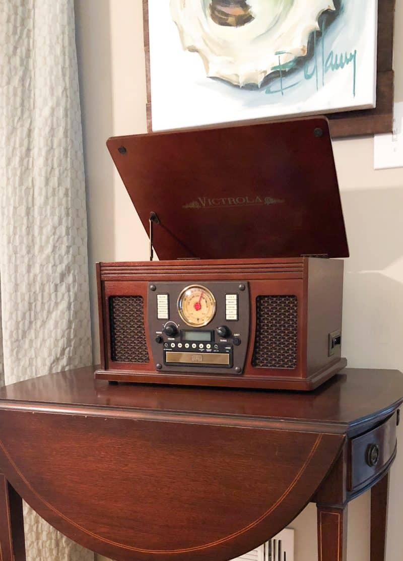 I Love Victrola Record Player Dixie Delights