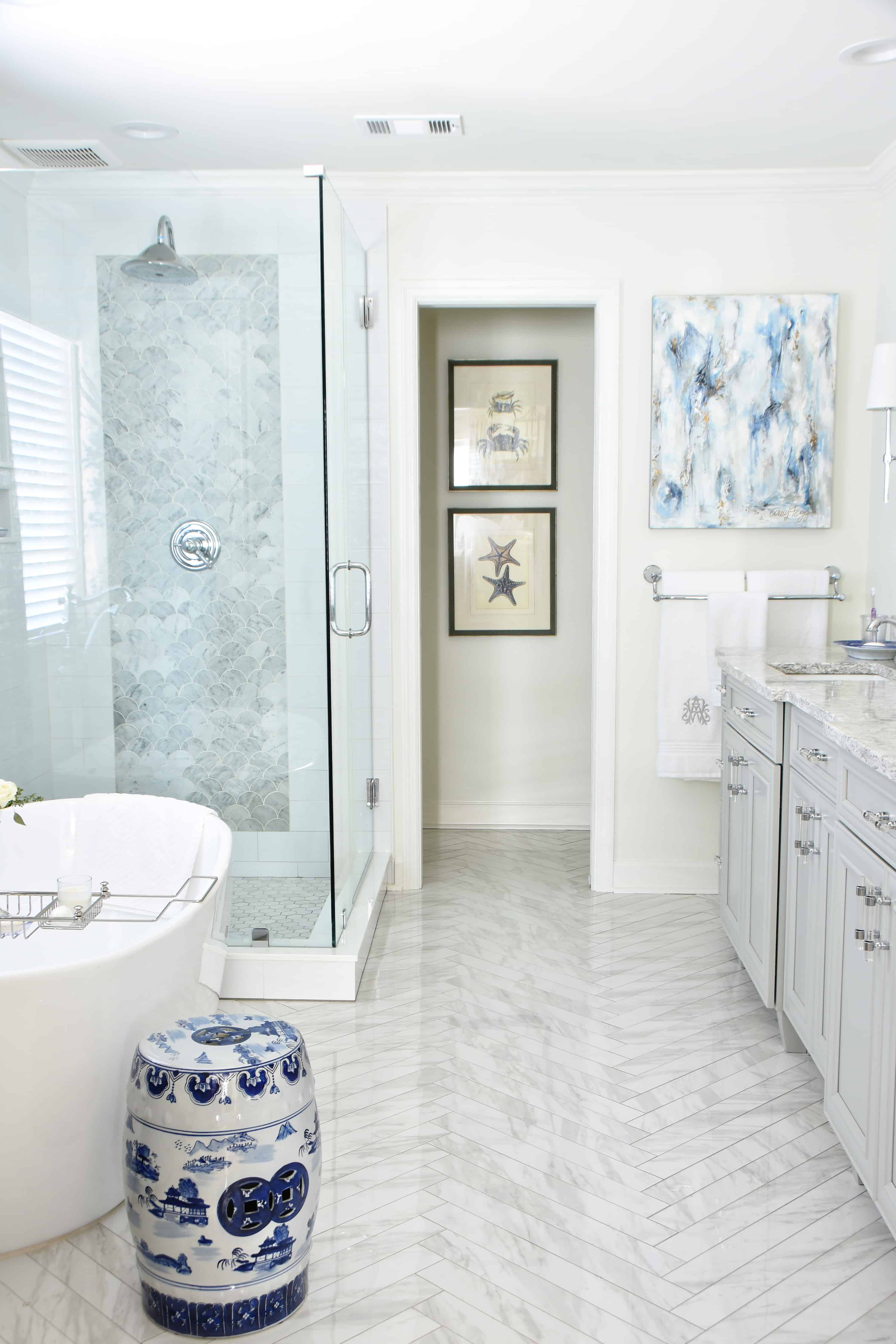 The Delightful Home Master Bathroom Dixie Delights