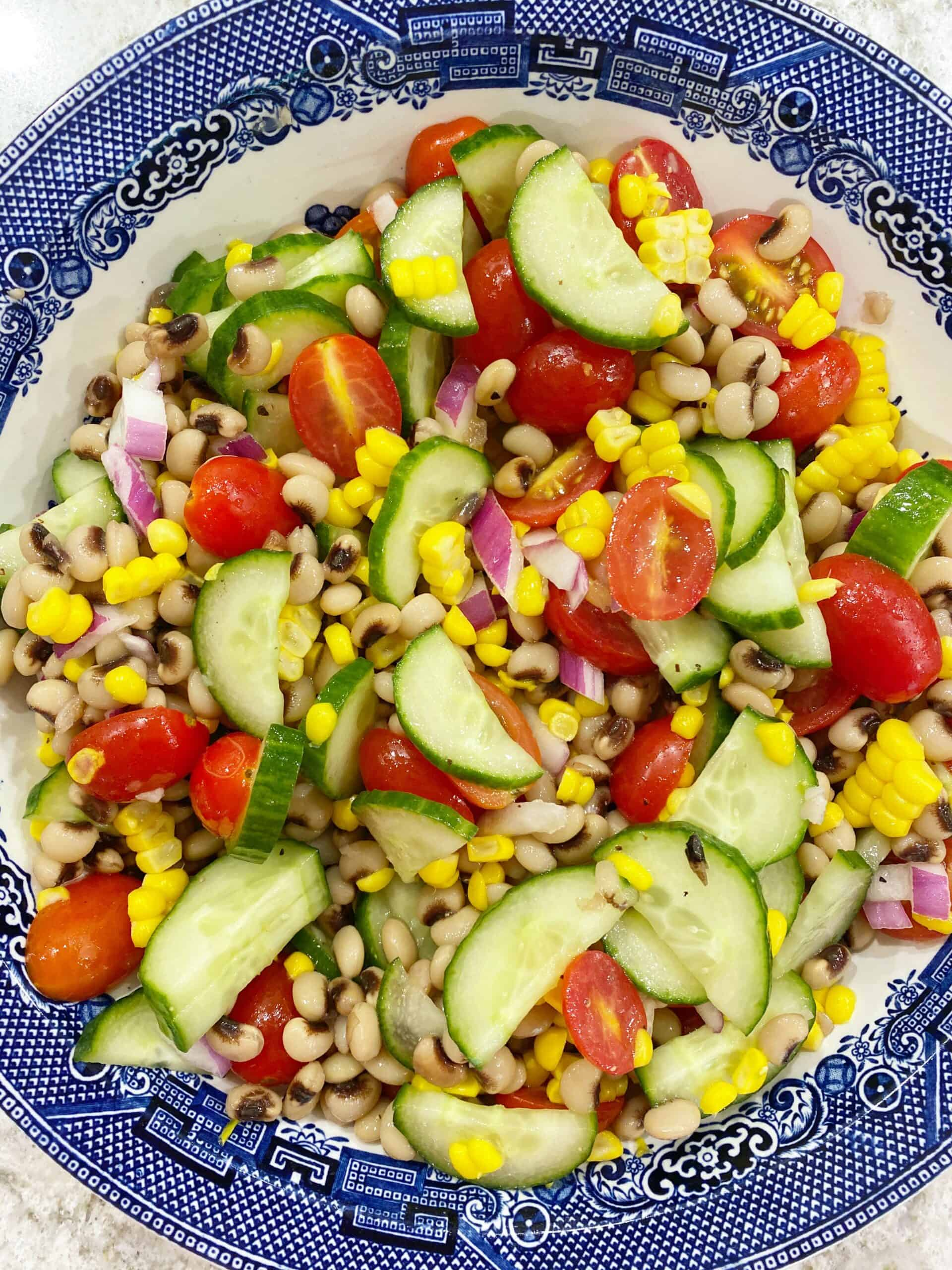Kitchen Sink Summer Salad Dixie Delights